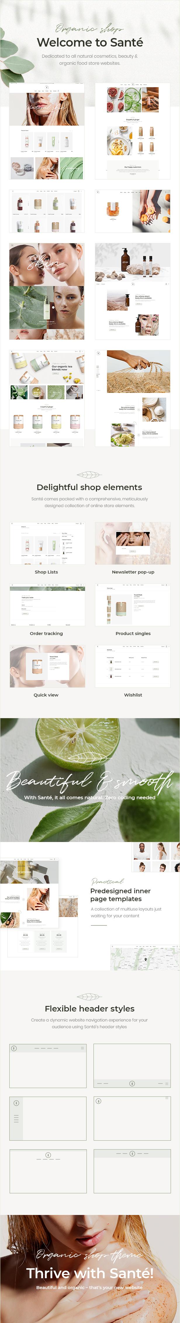 Santé - Organic Shop Theme - 2